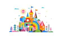 Geometric Fairy Tale Kingdom, ...