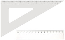 Two Transparent Rulers - Long ...