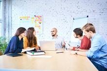 Group Of Startup Entrepreneurs...