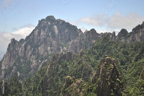 Foto op Plexiglas Khaki Huangshan, The Yellow Mountain, in Anhui, China