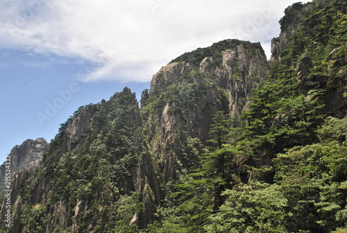 Foto op Canvas Khaki Huangshan, The Yellow Mountain, in Anhui, China