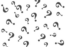 Question Mark Pattern. Questio...