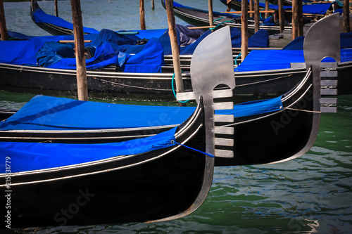 Foto op Canvas Gondolas Gondeln in Venedig