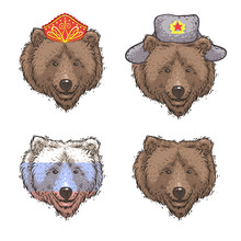 Russian Bears. Set
