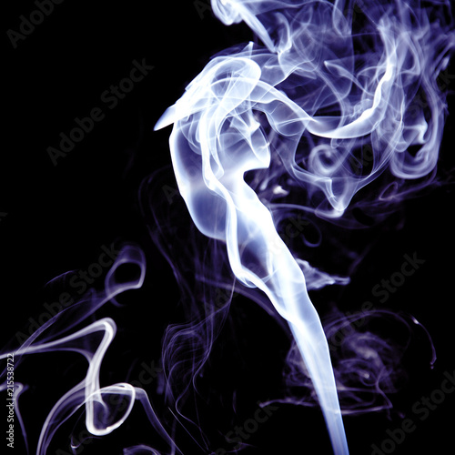 Fotobehang Rook A purple smoke pattern