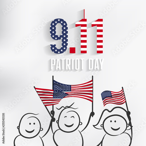 Poster  9/11 Patriot Day, September 11