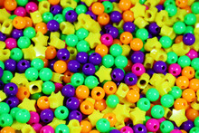 A Scattering Of Colorful Beads