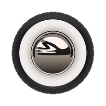 Retro Car Wheel