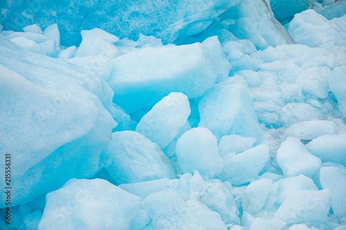 Fotobehang Midden Oosten Texture of Svartisen Glacier in Norway, nature background