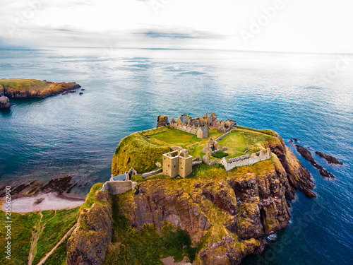 Dunottar Castle Canvas Print