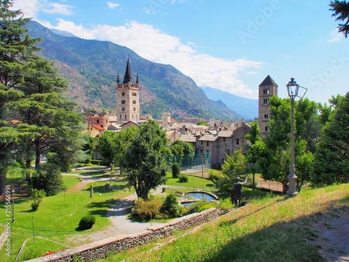 Fotografie, Obraz  ville de susa dans le piémont en italie