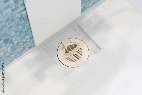 Fotografia, Obraz  シャワールーム・バスルーム 排水溝