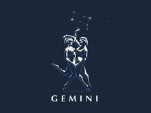 Gemini. Two Girls Are Twins.