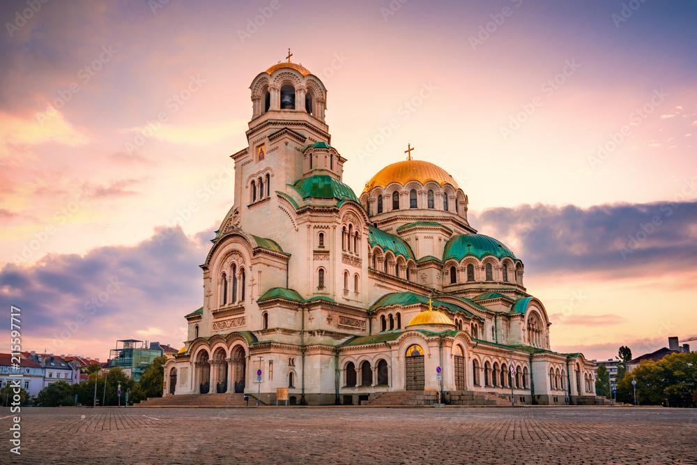 Fototapety, obrazy: Alexander Nevsky Cathedral, Sofia, Bulgaria