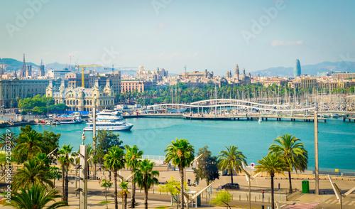 Foto auf Gartenposter Barcelona Marina Port Vell, Barcelona, Spain