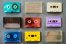 Set Of Vintage Tape Cassette R...
