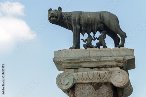 Vászonkép Roma, Lupa in Campidoglio