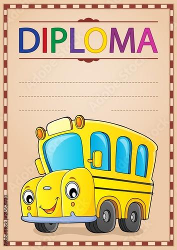 Foto op Plexiglas Voor kinderen Diploma design image 2