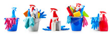 Cleaning Buckets Set