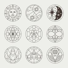Mystical Occult Tattoos, Witch...