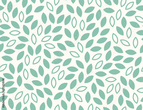 Leaves Pattern. Endless Background. Seamless Wall mural