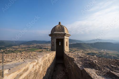 Landscape in Gerona Spain