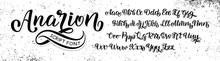 Hand Drawn Typeface. Brush Pai...