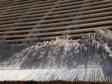 Reparatur  Des Reeddaches Eine...