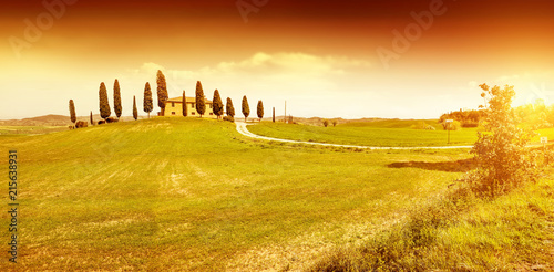 In de dag Toscane Autumn background of Tuscany