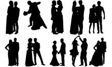 Prom Couple Silhouette | Ballr...