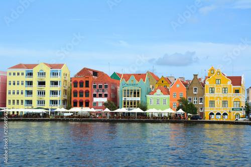 Foto op Plexiglas Caraïben Willemstad, Curacao UNESCO