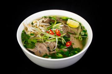 FototapetaVietnamese cuisine Pho Bo soup