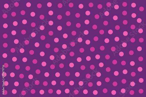 Fototapety różowe kropkowana-przestrzen-rozu