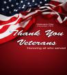 Veterans Day American flag