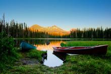 Last Sunlight At Scott Lake