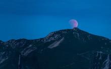 Blood Moon Rising Lunar Eclipse