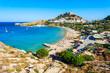Lindos Acropolis and beach, Rhodes