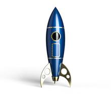 Rocket Blue Antique Style On W...