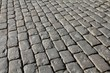 Granite old cobbles