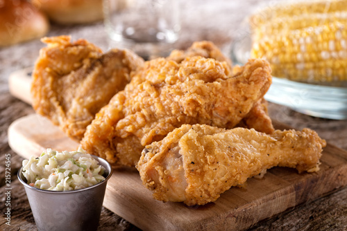 Foto op Plexiglas Kip Crispy Fried Chicken