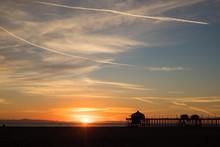 Peaceful Coastal Sunset With A...