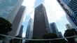 東京・高層ビル街・タイムラプス