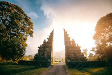 Hindu gate in Bali
