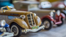 Old Car Model. Replica Of Vint...