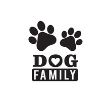 Dog Family Funny Pet Quote Pos...