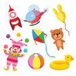 toy vector collection design