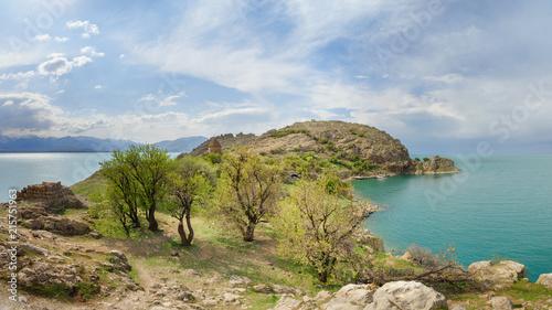 Staande foto Eiland Akdamar Island in Van Lake. Turkey