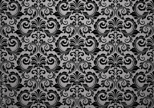 Wallpaper in the style of Baroque Fototapeta