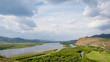 The sky and the river Selenga