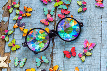 Designer Kaleidoscope Glasses ...